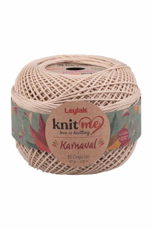 LEYLAK - Knit me Karnaval El Örgü İpi Taş 02812 50 gr.
