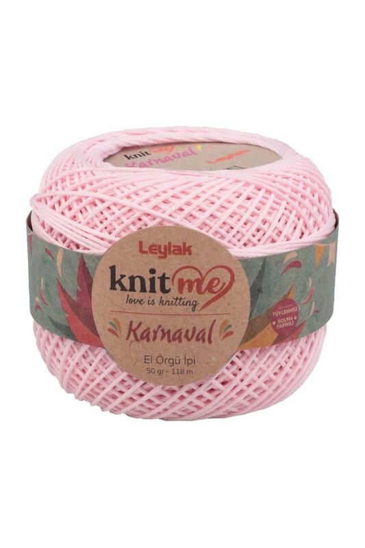 LEYLAK - Knit me Karnaval El Örgü İpi Açık Pembe 02261 50 gr.