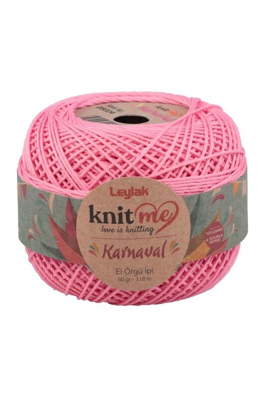 LEYLAK - Knit me Karnaval El Örgü İpi Şeker Pembe 08024 50 gr.