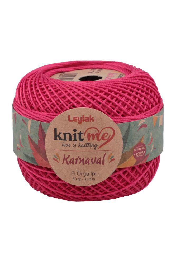 Knit me Karnaval El Örgü İpi Fuşya 01770 50 gr.