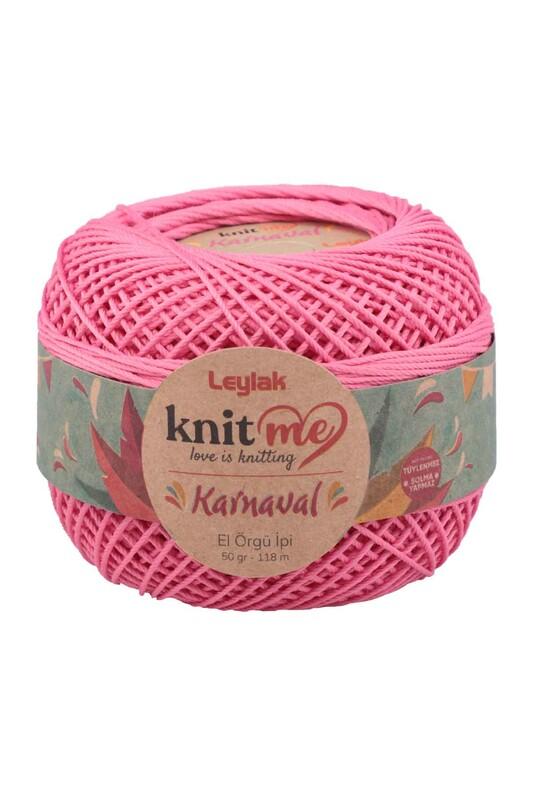 LEYLAK - Knit me Karnaval El Örgü İpi Koyu Pembe 00027 50 gr.