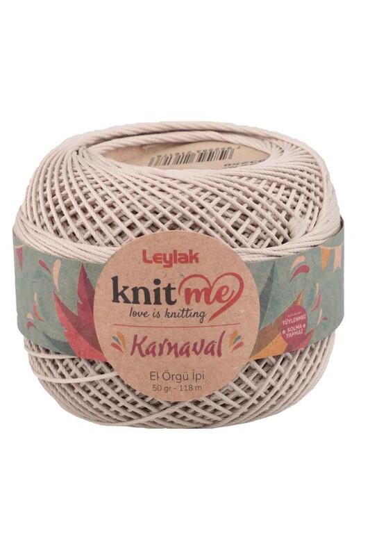 LEYLAK - Knit me Karnaval El Örgü İpi Taş 03258 50 gr.