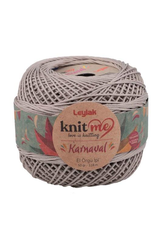 LEYLAK - Knit me Karnaval El Örgü İpi Taş 04029 50 gr.