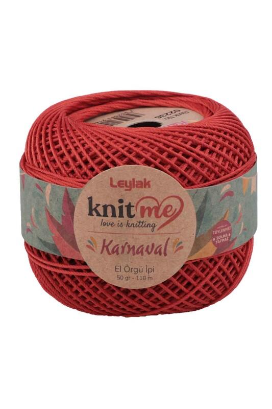 LEYLAK - Knit me Karnaval El Örgü İpi Kiremit 02236 50 gr.