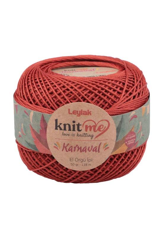 LEYLAK - Knit me Karnaval El Örgü İpi Tarçın 01773 50 gr.