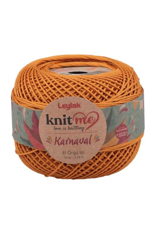 LEYLAK - Knit me Karnaval El Örgü İpi Hardal Sarı 00073 50 gr.