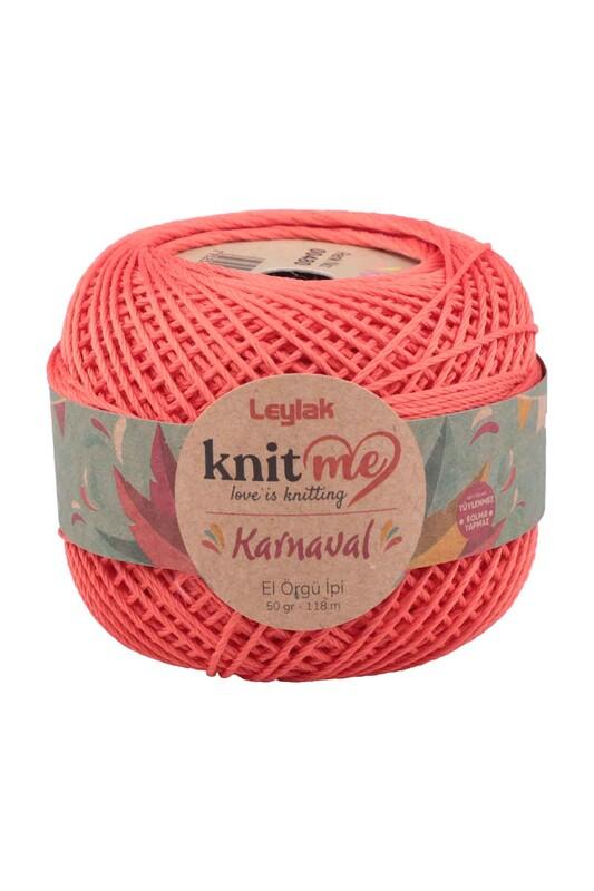 LEYLAK - Knit me Karnaval El Örgü İpi Nar Çiçeği 00480 50 gr.