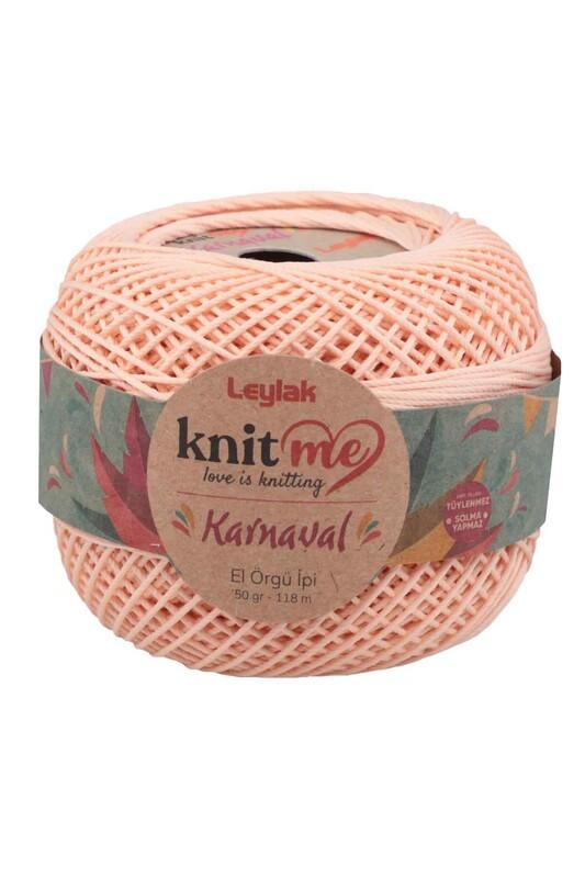 LEYLAK - Knit me Karnaval El Örgü İpi Açık Somon 01108 50 gr.