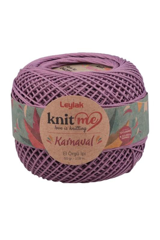 LEYLAK - Knit me Karnaval El Örgü İpi Koyu Lila 04286 50 gr.