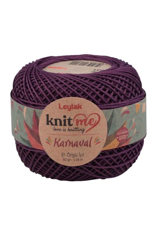 LEYLAK - Knit me Karnaval El Örgü İpi Açık Mor 08031 50 gr.