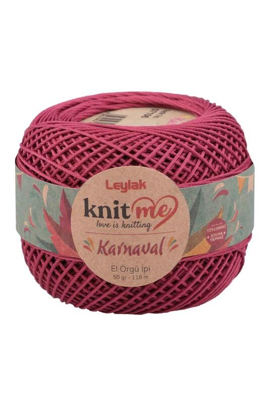 LEYLAK - Knit me Karnaval El Örgü İpi Vişne Çürüğü 07106 50 gr.