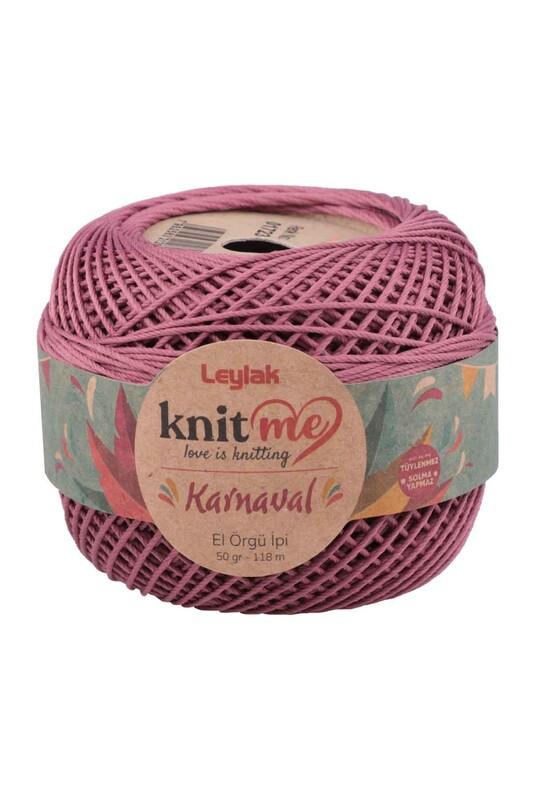 LEYLAK - Knit me Karnaval El Örgü İpi Gül Kurusu 01723 50 gr.