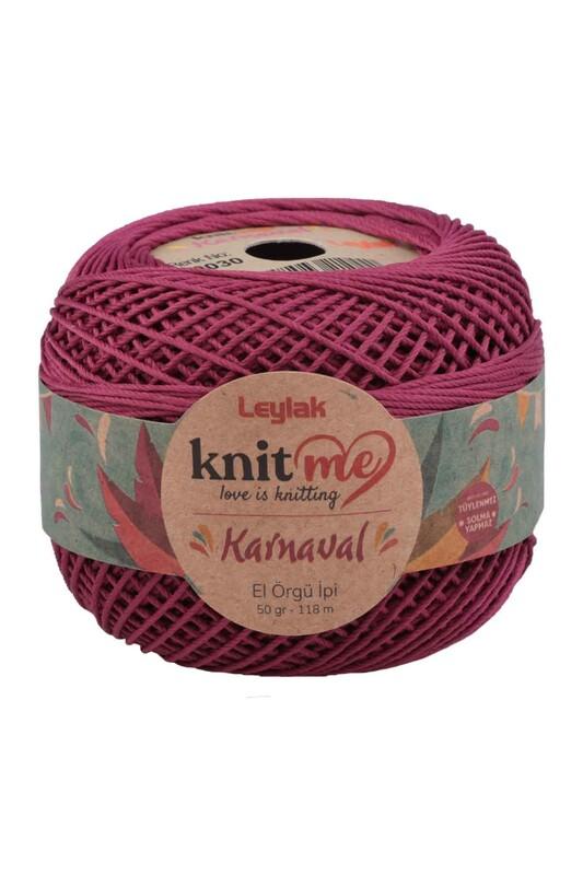 LEYLAK - Knit me Karnaval El Örgü İpi Vişne Çürüğü 00030 50 gr.