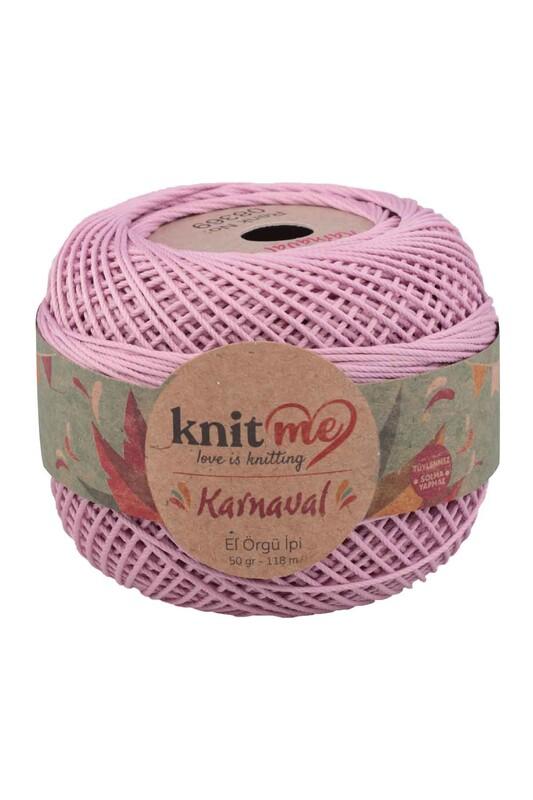 LEYLAK - Knit me Karnaval El Örgü İpi Lila 08369 50 gr.