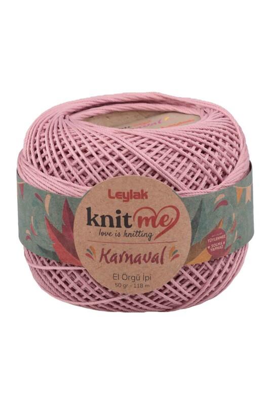 LEYLAK - Knit me Karnaval El Örgü İpi Lila 00836 50 gr.