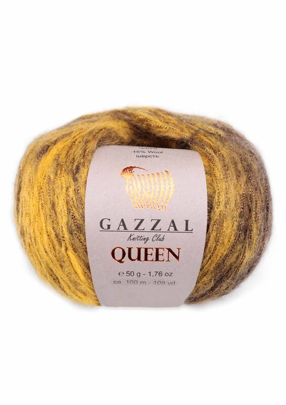 Gazzal - Gazzal Queen El Örgü İpi 50 gr | 2764