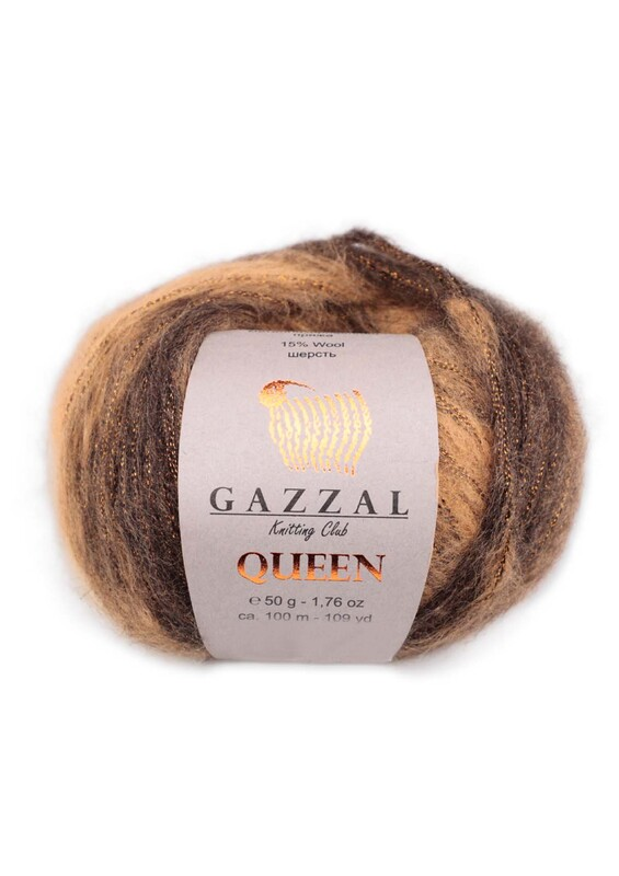 Gazzal - Gazzal Queen El Örgü İpi 50 gr | 2763