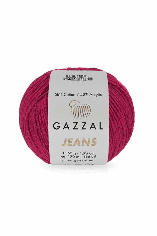 Gazzal - Gazzal Jeans El Örgü İpi | Fuşya 1138