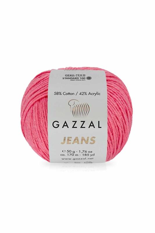 Gazzal - Gazzal Jeans El Örgü İpi | Nar Çiçeği 1136