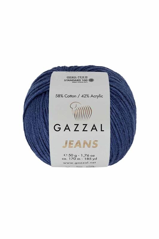 Gazzal - Gazzal Jeans El Örgü İpi | İndigo 1134