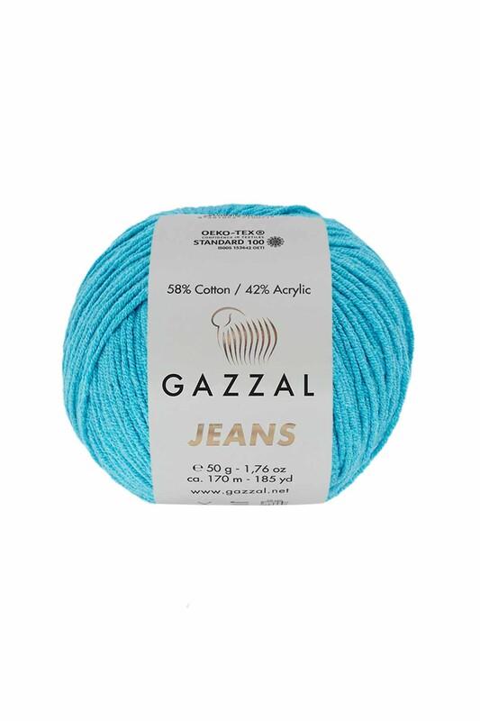 Gazzal - Gazzal Jeans El Örgü İpi | Turkuaz 1132