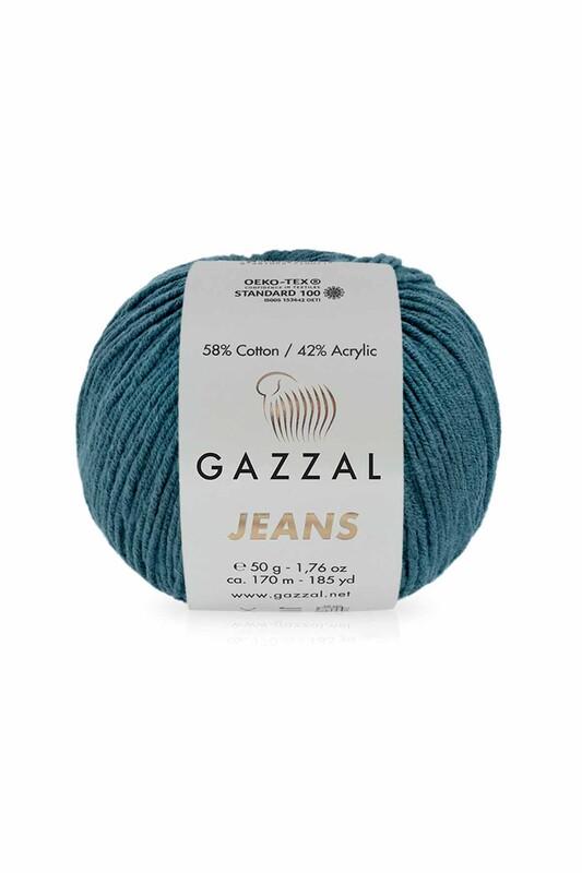Gazzal - Gazzal Jeans El Örgü İpi | Koyu Petrol 1131