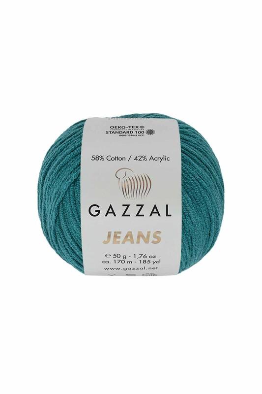 Gazzal - Gazzal Jeans El Örgü İpi | Petrol 1130