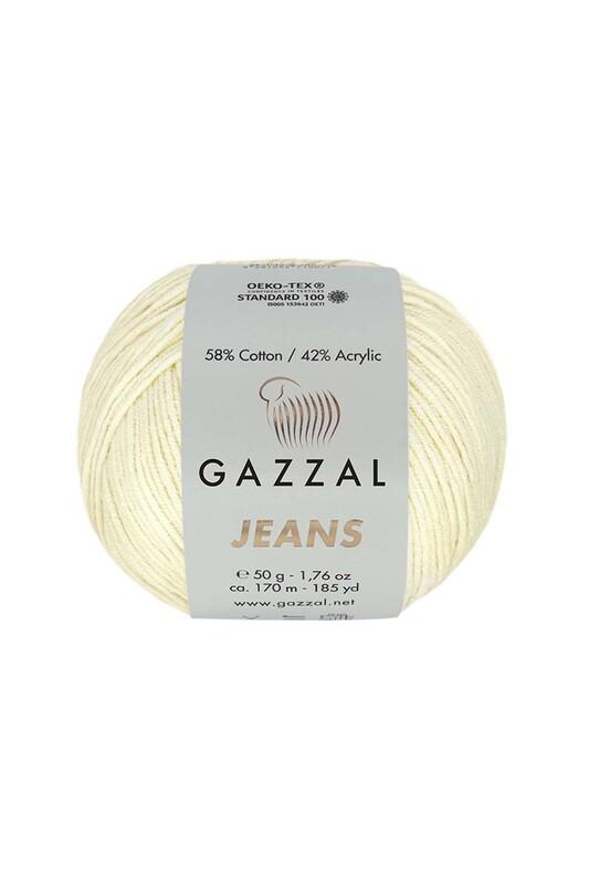 Gazzal - Gazzal Jeans El Örgü İpi | Krem 1120