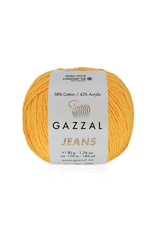 Gazzal - Gazzal Jeans El Örgü İpi | Hardal 1124