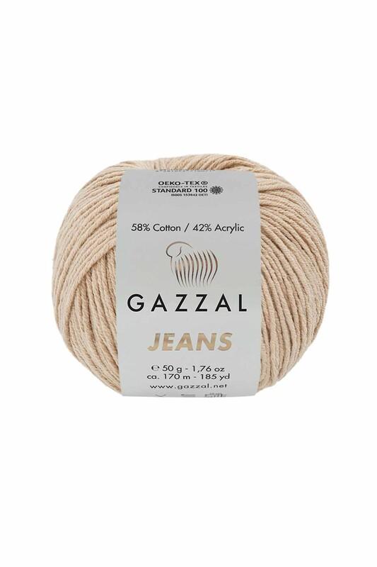 Gazzal - Gazzal Jeans El Örgü İpi | Bej 1121