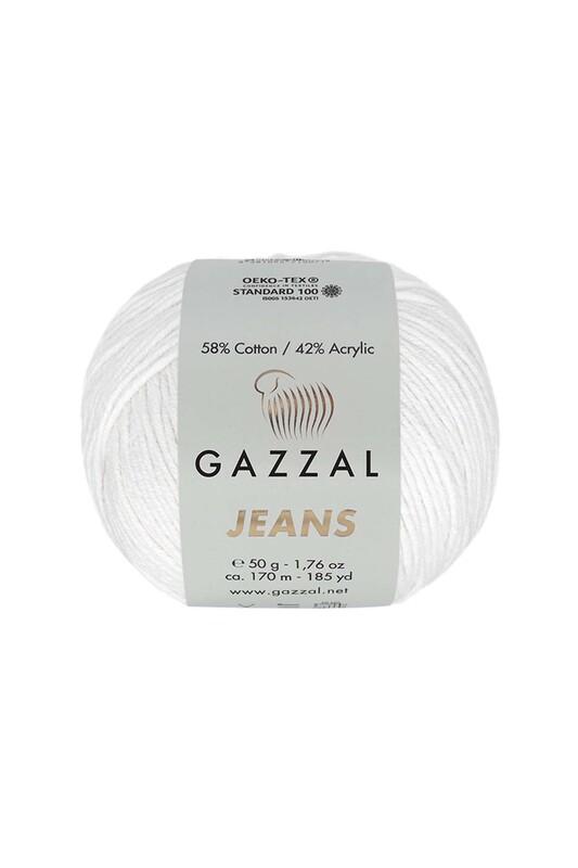 Gazzal - Gazzal Jeans El Örgü İpi | Beyaz 1119