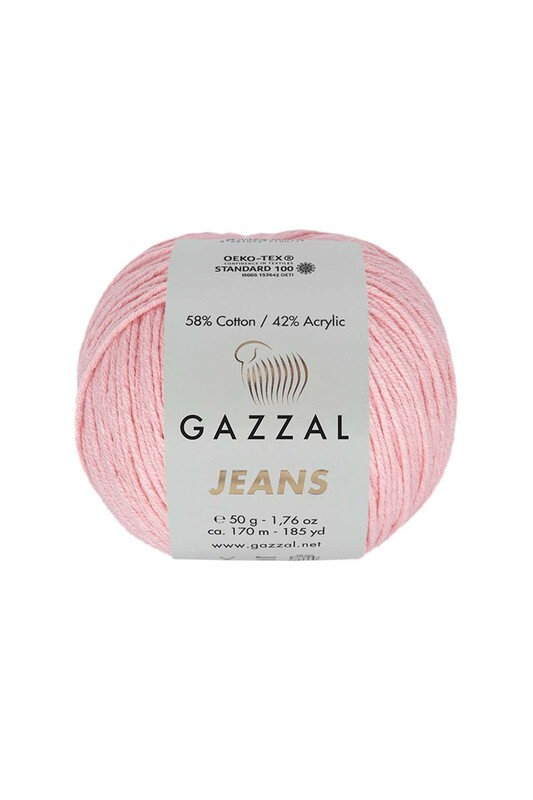 Gazzal - Gazzal Jeans El Örgü İpi | Pudra 1118