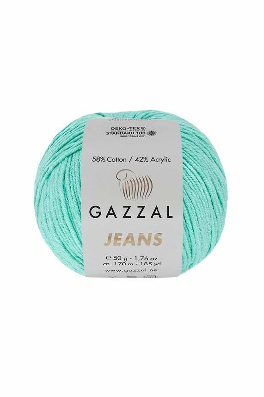 Gazzal - Gazzal Jeans El Örgü İpi | Mavi 1115
