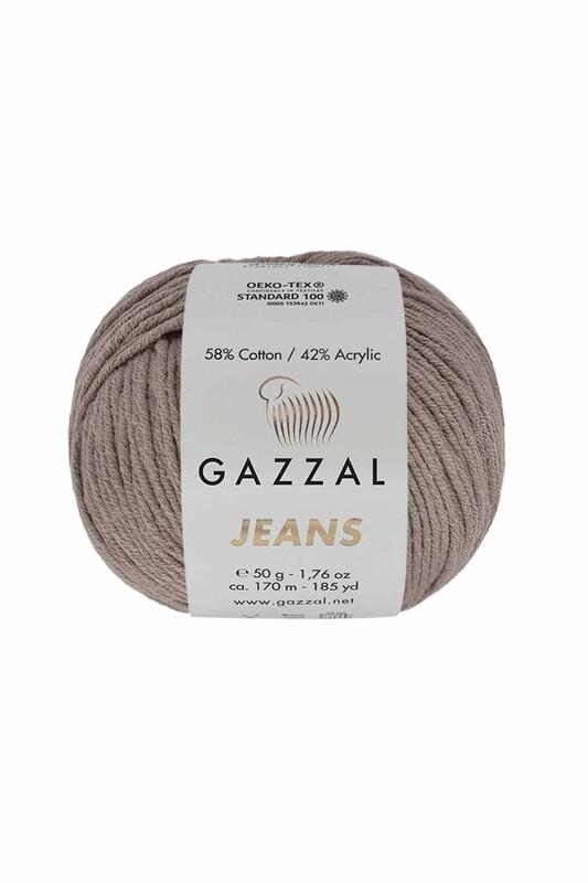 Gazzal - Gazzal Jeans El Örgü İpi | Vizon 1112