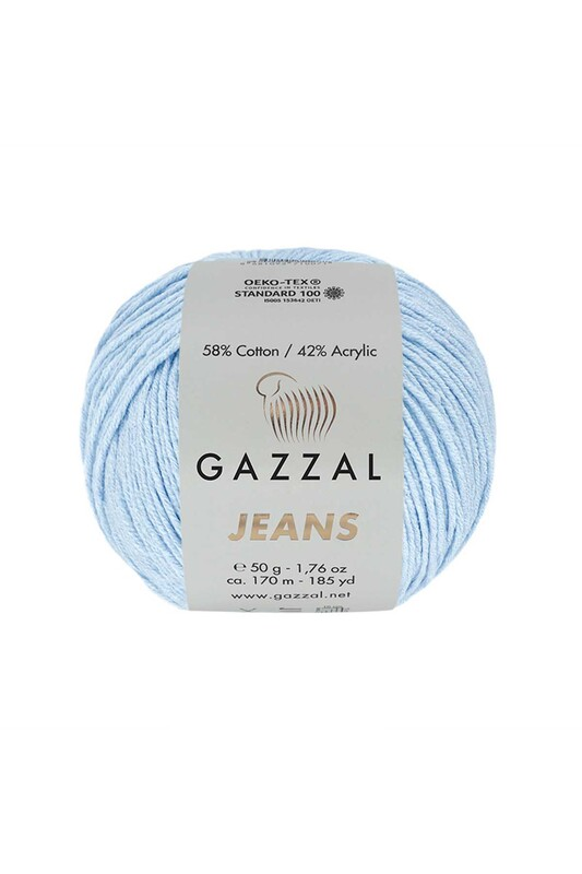 Gazzal - Gazzal Jeans El Örgü İpi | Bebe Mavi 1109