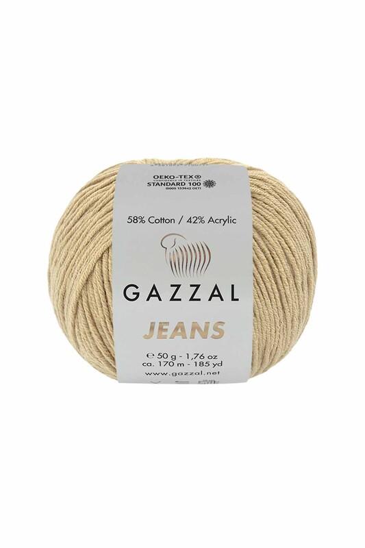 Gazzal - Gazzal Jeans El Örgü İpi | Bej 1106