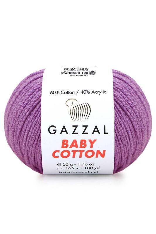 Gazzal - Gazzal Baby Cotton El Örgü İpi 3414