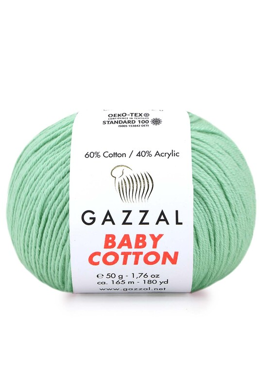 Gazzal - Gazzal Baby Cotton El Örgü İpi 3425
