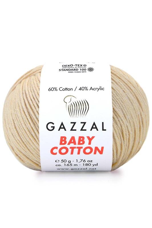 Gazzal - Gazzal Baby Cotton El Örgü İpi 3445