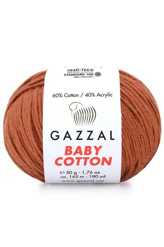 Gazzal - Gazzal Baby Cotton El Örgü İpi 3454