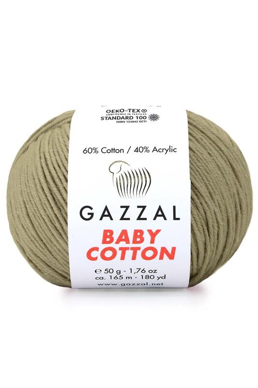 Gazzal - Gazzal Baby Cotton El Örgü İpi 3464