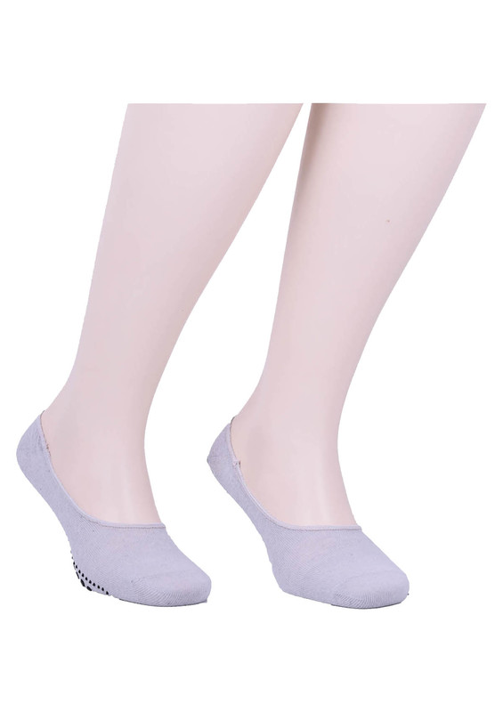 SİMİSSO - Simisso Erkek Tavaf Babet Çorabı   Gri