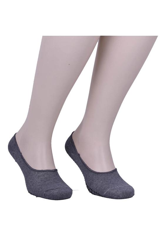 SİMİSSO - Simisso Erkek Tavaf Babet Çorabı   Füme