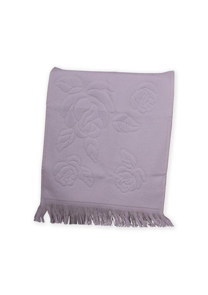 Fiesta Soft Kadife İşleme Havlusu Saçaklı 30 x 50 | Beyaz