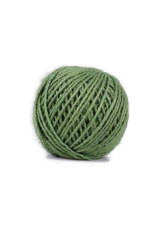 SİMİSSO - Simisso Jüt İpi   Koyu Yeşil