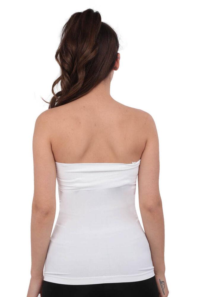 Layza Form Dikişsiz Atlet 14008 | Beyaz