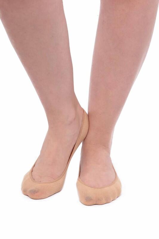 DAYMOD - DayMod Dikişsiz Kadın Babet Çorap Suba | Ten