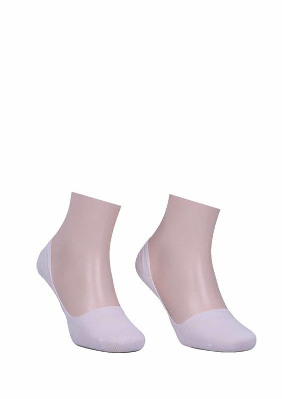 DÜNDAR - Dündar Düz Babet Çorap 8506 | Beyaz