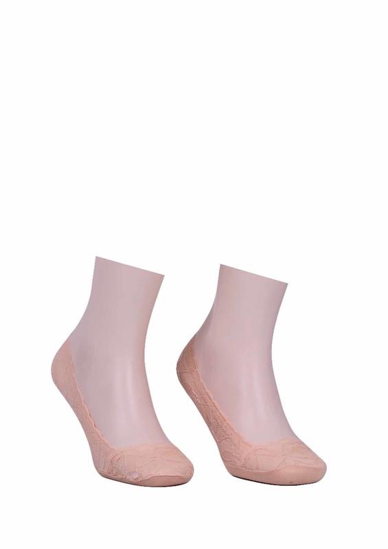 İLBAŞ - Dantelli Babet Çorap 326 | Ten