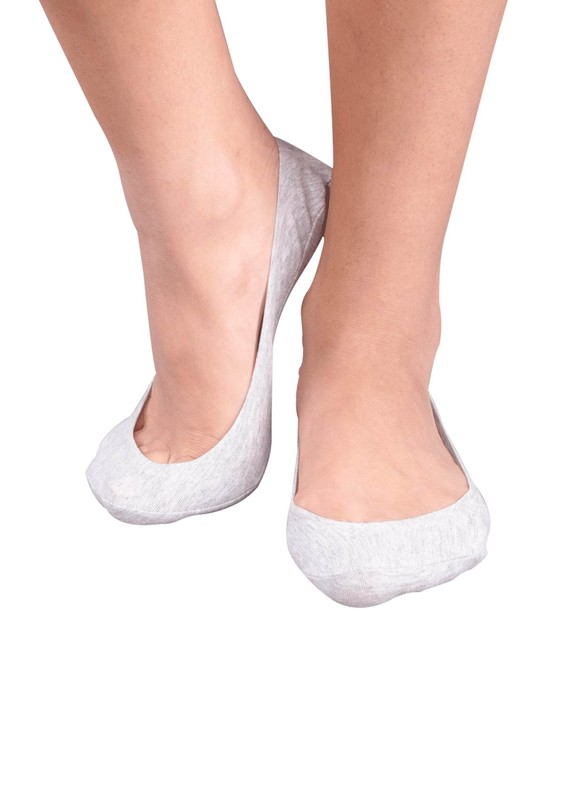 PENTİ - Penti Lazer Kesim Suba Babet Çorap | Gri
